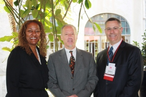 ED Richard Winefield with Senator Mitchell and Bob Frassetto
