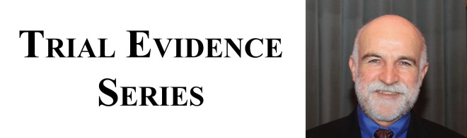 Trial Evidence Series