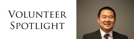 Volunteer Spotlight Robert Chang
