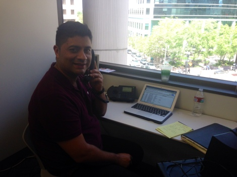 Victor, our Spanish translator for LRS and VLSC, helps the ACBA connect Spanish speaking members of our community to legal services.