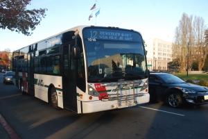 AC Transit bus by Paul Sullivan