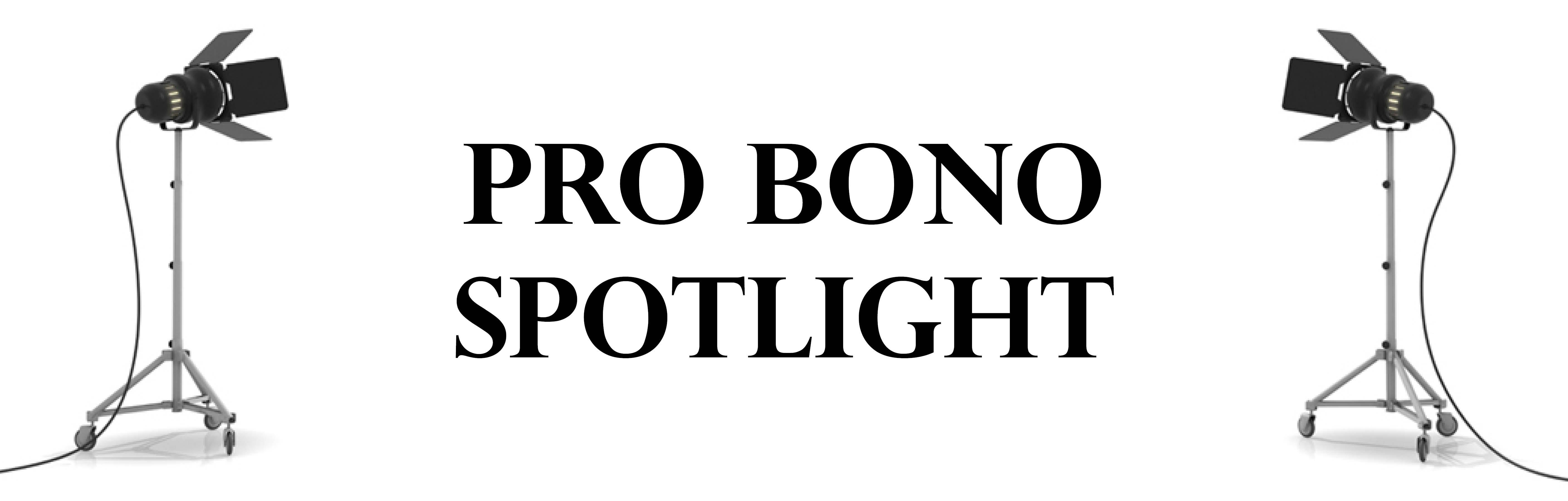 Pro Bono SPotlight