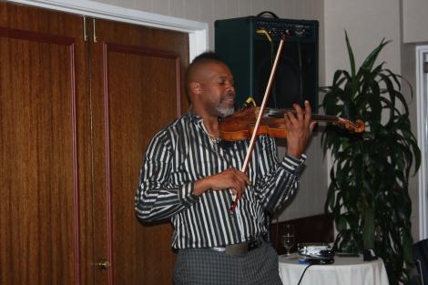Violinist Kippy Marks
