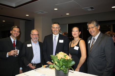 John Fricke, Charles Bendes, Bob Frassetto, Dorothy Proudfoot, and Ruben Sundeen