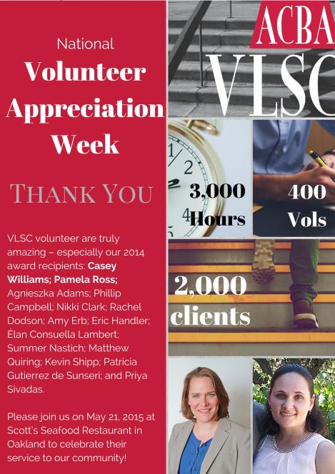 ACBA Celebrates National Volunteer Appreciation Week
