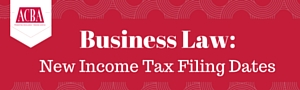 Business Law Banner red