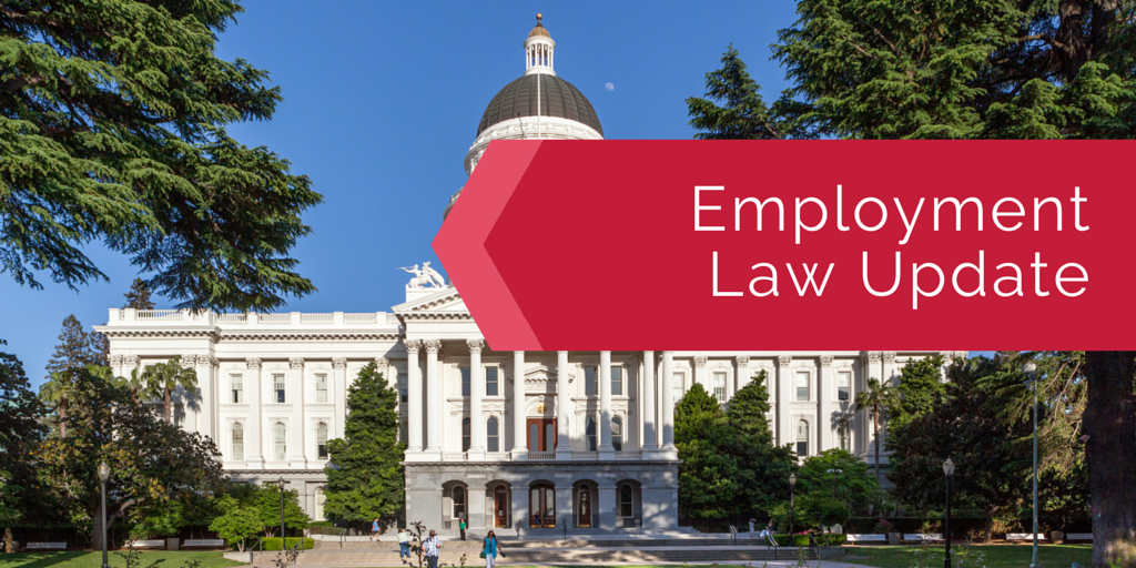 Employment Law Update 2015